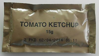 TOMATO KETCHUP   from  AUSTRALIAN  RATION PACK (MRE) Food (Cadets)