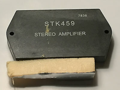 STK459 Stereo Amplifier Integrated Circuit IC US Seller New Old Stock