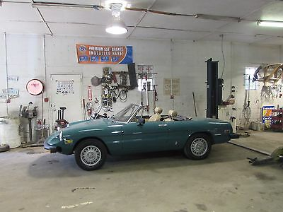 1978 Alfa Romeo Spider spider 1978 Alfa Romeo Spider Veloce Convertible Must See!!!!!!!!!!!