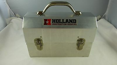 Miners Aluminum Lunchbox L. MAY MFG. Sudbury Ontario Made in Canada