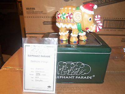 Elephant Parade Gingerphant 2014 New In Box #370