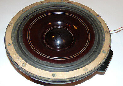 Vintage Western Electric D173491 Speaker! Phenolic Cone! Cast Iron Frame! 22 Lbs