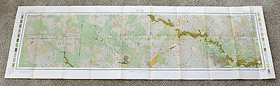 1907 Morton North Dakota Map Original Large Soil Survey Dept Agriculture
