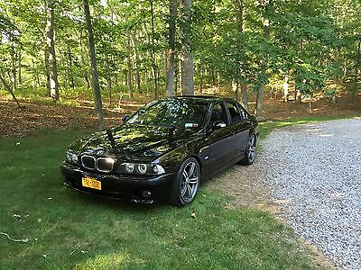 1999 BMW M5  BMW Dinan 5 S2 Black / Black and Loaded