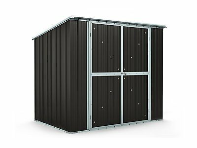 Garden Shed 2.31m x 1.55m x 2.02m Ironsand Storage Sheds Colorbond NEW