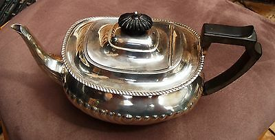 1904 Atkin Bros of Sheffield hallmarked sterling silver teapot