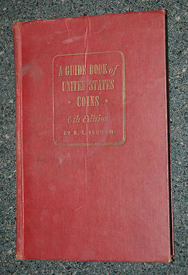1953-54 Guide Book United States Coins Redbook 6th ed.