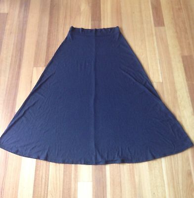 ally Black Maternity Full Skirt Size 14