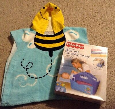 NWOT FISHER PRICE Portable Bath & Changing Caddy; PORTABLE ORGANIZER