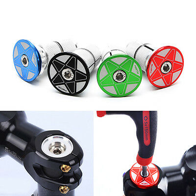 Mountain Bike Handlebar Ends Bicycle Grip Ends Caps Handle Cycling Bar Plug New