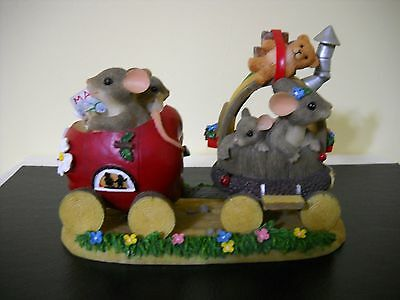 """Charming Tails """"EXPO BOUND""""  DEAN GRIFF FITZ & FLOYD SPECIAL ADDITION 2000"""