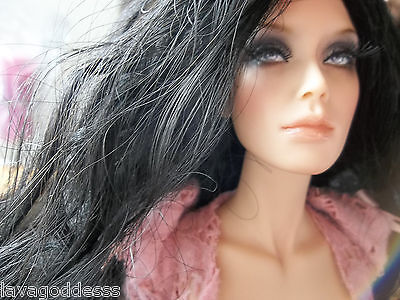 "Sybarite Superdoll OOAK ToyZoo Repaint - Nude, Bald - Resin 16"" ToyZoo Repaint"