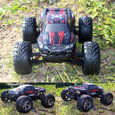 Large Remote Control RC Kids Big Wheel Toy Car Monster Truck - 2.4 GHz 9.6V UK
