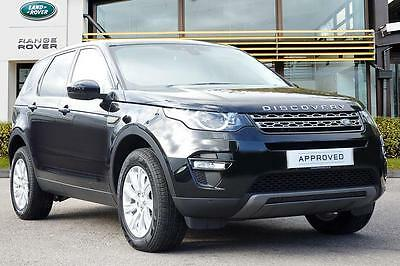2016 Land Rover Discovery Sport TD4 SE TECH Diesel black Automatic