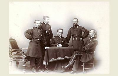 Major General George Custer Civil War PHOTO, Cavalry Corps, Gen Philip Sheridan