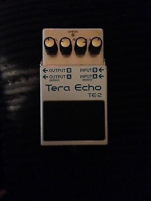 Boss Tera Echo Guitar Pedal