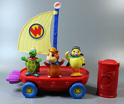 Wonder Pets Flyboat Tuck Linny Ming-Ming Lights & Sound PLUS Phone