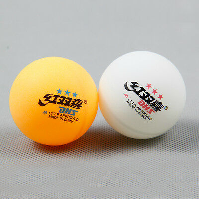 Wholesale ● DHS● 40mm● Double Happiness ●3-STAR TABLE TENNIS BALL PINGPONG BALLS