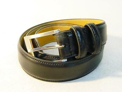 Club Room Men's Leather Belt Black NWT Size 32