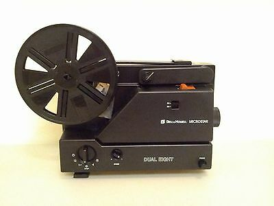 Bell & Howell Microstar Super 8 and Standard 8mm Film Movie Projector