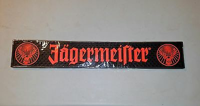 "Jagermeister Spill Mat Liquor drink Bar Rail Rubber tray 1/2"" Jager Brand New!"