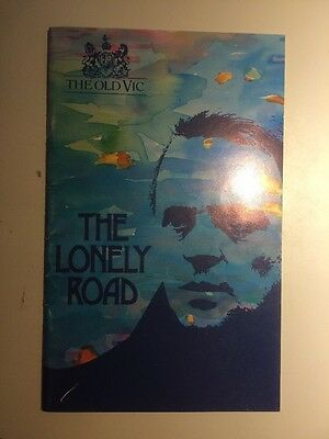 The Lonely Road @ The Old Vic Theatre Program Stars Anthony Hopkins, Colin Firth