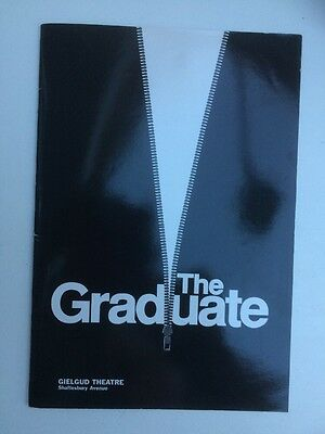 The Graduate @ Gielgud Theatre Program  Starring Jerry Hall