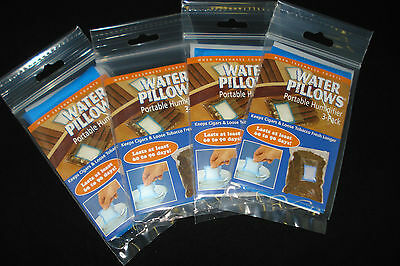 Water Pillows - Portable Humidifiers for Cigars 4 x 3's Packs