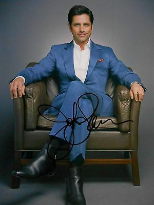 John Stamos  8x10 auto photo in Excellent Condition