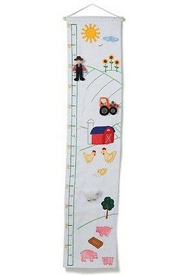 BNWT Oskar and Ellen Farm Height Chart Velcro Characters