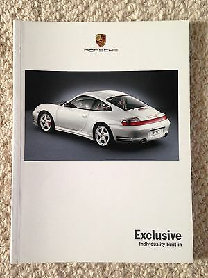 Porsche - Exclusive Leaflet 2002
