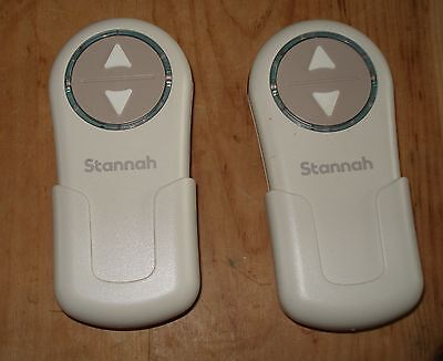 2 x Stannah Stairlift Remote Control