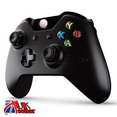 Wireless Black Official Game Controller For Microsoft Xbox One Windows Brand New