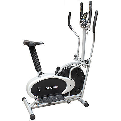 DTX Fitness Pro 2 in Elliptical Cross Trainer Exercise Bike Workout/Gym/Cardio U