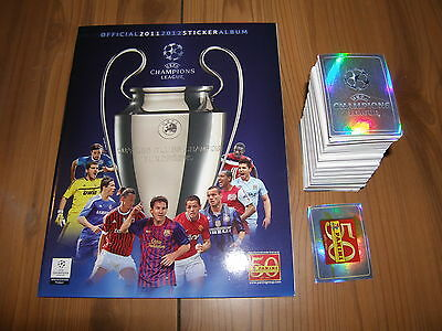 Panini Uefa Champions League 2011 / 2012 Set Complet + Album Vide
