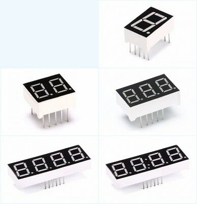 "2/3/4 Bit 0.56/0.5/0.36"" Digital Tube Common Cathod/Anode Red LED Arrays Display"
