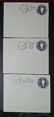 GB Postal Stationery: 3d Post Office Issue Envelopes, EP84 Size H, used (No071)