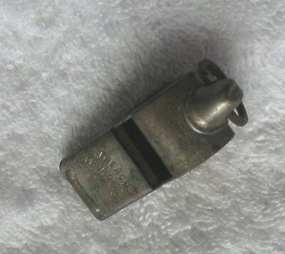 Old Vintage The Acme Thunderer Escargot Whistle, Made in England