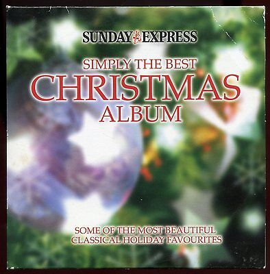 Sunday Express Promotional CD Simply the Best Christmas Album - Classical Music