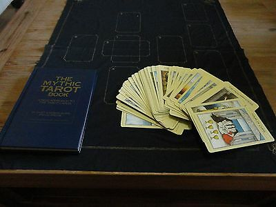 Mythic Tarot Deck of Cards, Book and cloth in Box