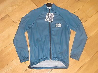 NEW Lusso Breathe Fleece Jacket Top Cycling Running Green SMALL S nos