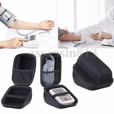 Arm Blood Pressure Monitor Waterproof EVA Storage Carry Hard Case Bag For Omron
