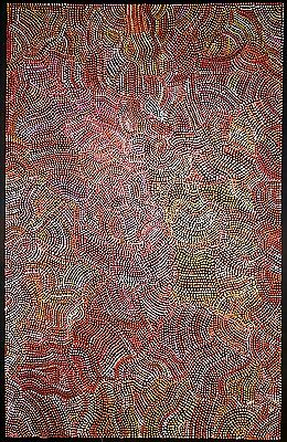 Joy Purvis Petyarre.  Authentic Aboriginal art.  Incl ,COA and photo's.