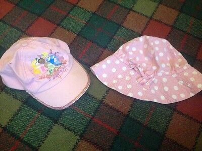 girls pink hats age 3 to 6