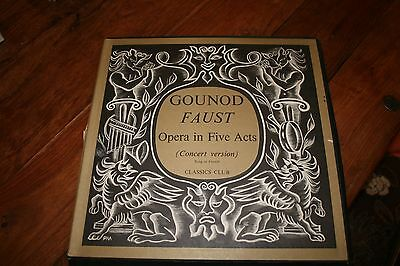 GOUNOD FAUST Opera in Five Acts