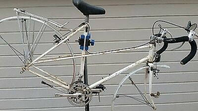 Ultimate Mixte Reynolds 531, lightweight Handbuilt Eclipse London frame vintage