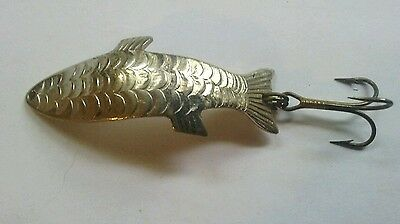 Vintage Acme Phoebe Metal Chrome Fly-rod Fishing Spoon Lure Trout 2""