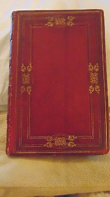1830 1St Ed. Leather Bound Italy A Poem By Samuel Rogers