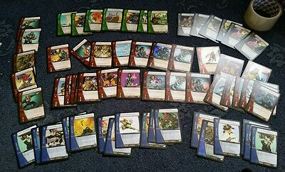 Xmen marvel vs system cards deck including onslaught and rares