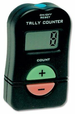 Digital Hand Tally Counter Electronic Manual Clicker Golf Gym Security running -